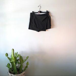 NWT Zara Mini Skort Shorts and Wrap Skirt Small